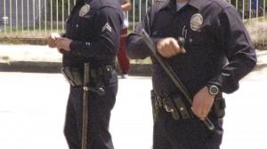 LAPD SHOOTING AL JAZEERA baton b