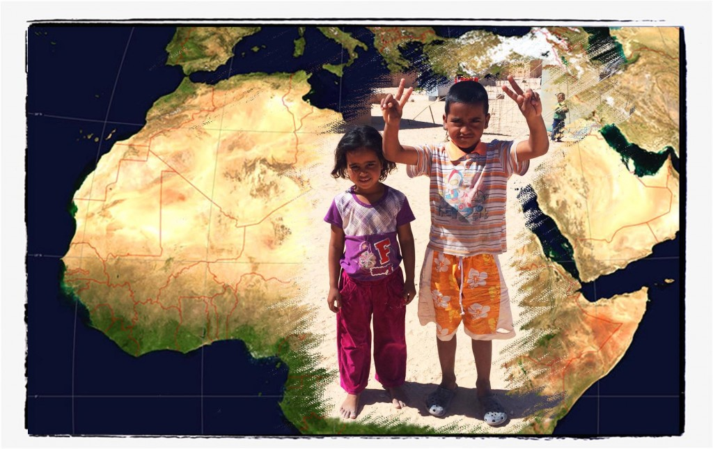 boy and girl saharawi